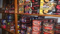 Koller Feuerwerk Verkaufslager