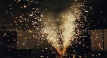 Bühnenfeuerwerk